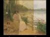 05-femme au bord de l'eau - le nettoyage